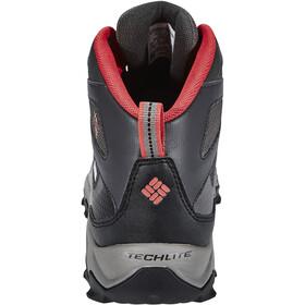 Columbia Peakfreak XCRSN II XCEL Mid Outdry Buty Mężczyźni, city grey / bright red
